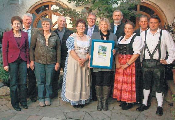 Sieg bei Dorfökologie 2011