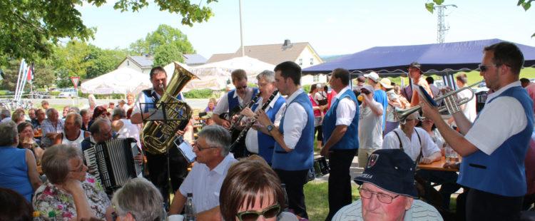 Der Termin für das Musikantenfest 2018 in Kleinschloppen steht fest