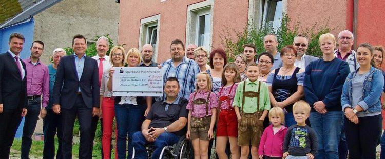 Kleinschloppener Musikantenfest bringt 3000 Euro